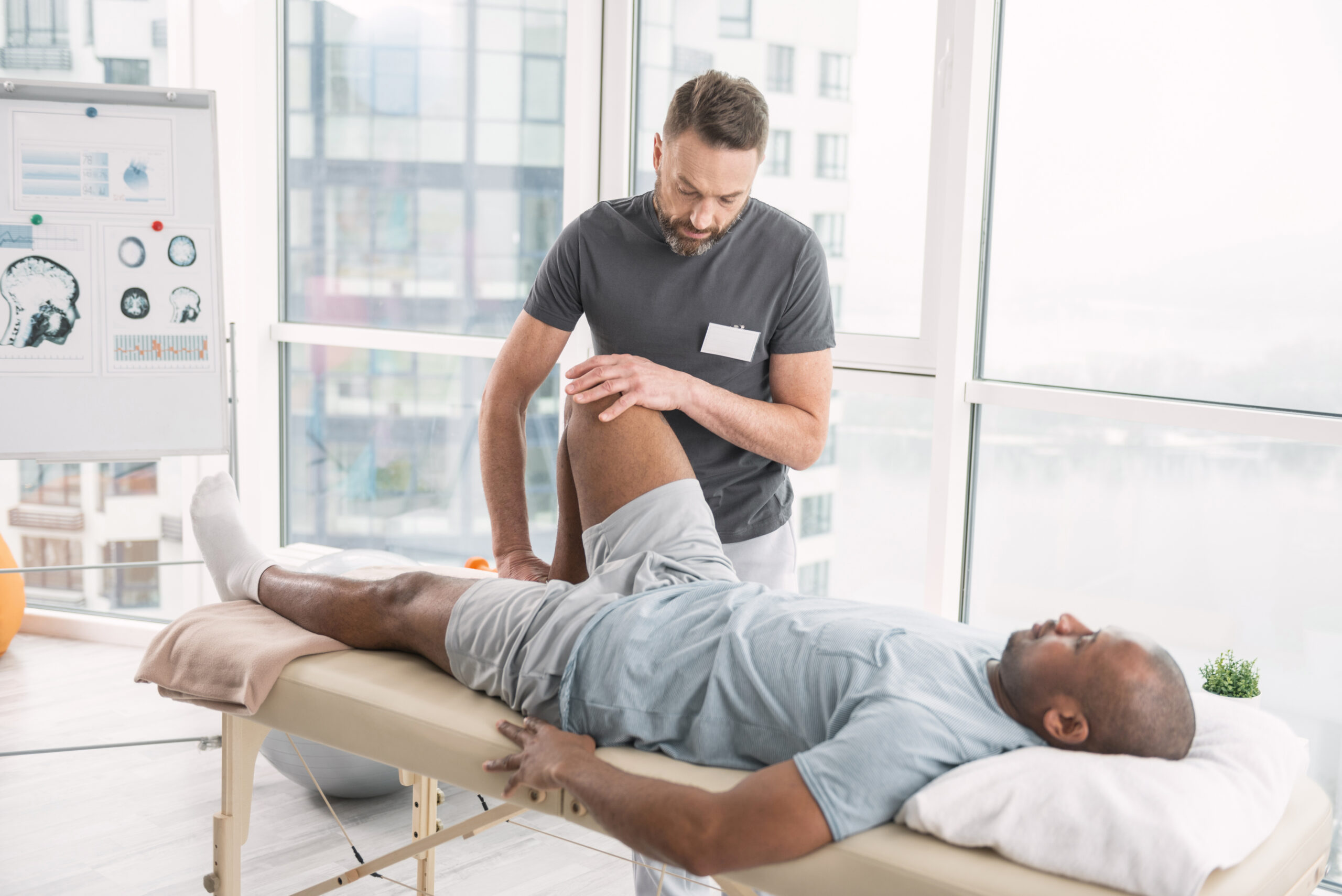sympathetic blocks improve physical therapy